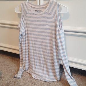 Abercrombie kids long sleeve knit top